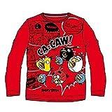 Angry Birds camiseta de manga larga multicolor 4 Años
