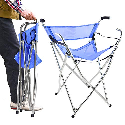 Freshore Walking Stick Folding Cane Seat