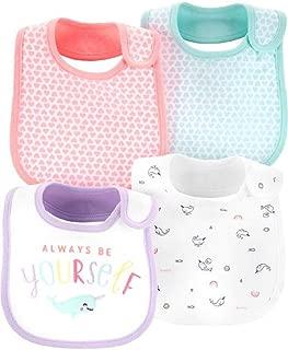 Carter's Baby Water Resistant 4-Pack Teething Bibs