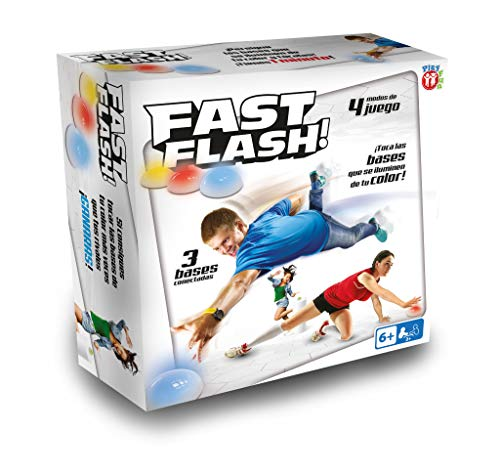 IMC Toys Play Fun, Fast Flash, Juego de habilidad (91719)