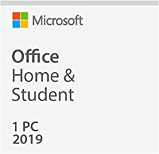 MICROSOFT OFFICE HOME & STUDENT 2019 for 1 PC/