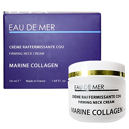 Marine Collagen Firming Neck Cream, Anti-aging, Tightening, Lifting Cream, Age-Defying Miracle Excellent for Sensitive Skin