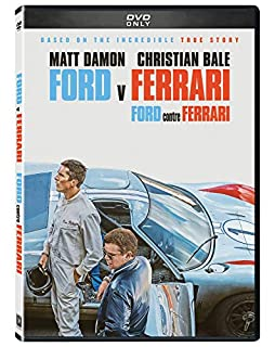 Ford v Ferrari (DVD) (Bilingual) (B0833VRJ9X)   Amazon price tracker / tracking, Amazon price history charts, Amazon price watches, Amazon price drop alerts