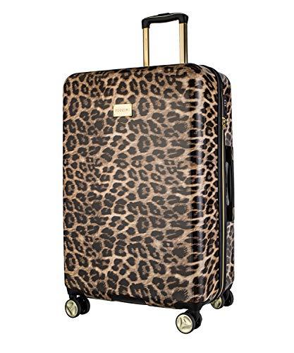 Koffer Reisekoffer Hartschalen Trolly Puccini® Beverly Hills (Leopard Beige 6, Groß)