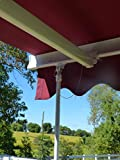 Awning Assist Brace - Universal Wind Support Pole Leg for Retractable Patio Awning