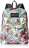 Jansport Unisex Superbreak Backpack (MISC, COLLAGE FLORAL)