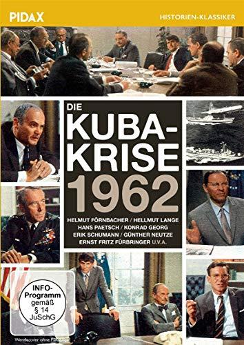 Die Kuba-Krise 1962 / Spannendes Dokumentarspiel mit Starbesetzung von Peter von Zahn (Pidax Historien-Klassiker)