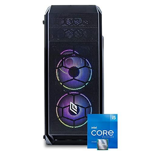 Pc fisso intel i5 11400,Ram 8 Gb ddr4, Ssd NVME 500 Gb,Lettore masterizzatore, Windows 10 Pro, cpu 6 core, Computer i5,fisso assemblato cpu 4.40ghz in turbo, wifi Pc desktop ssd completo