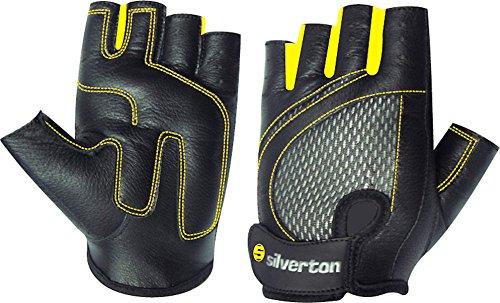 Silverton Fitness Handschuhe Lady, schwarz/gelb, M