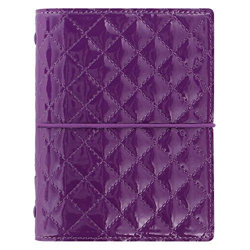 Filofax Pocket Domino Luxe Organizador - morado