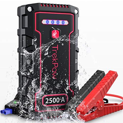 Arrancador batería Booster TrekPow TJ2500 Jump Starter 2500A
