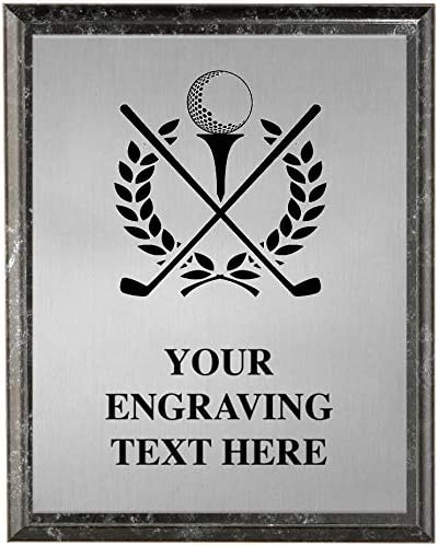 Crown Awards Golf Plaques Plaqu Course Max 75% OFF Cheap SALE Start Trophy Personalized
