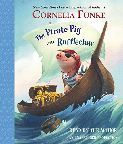 The Pirate Pig and Ruffleclaw audiobook cover art
