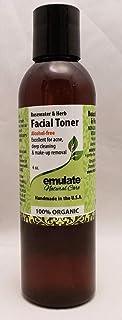 Moringa Rosewater & Herb Facial Toner emulate Natural Care 6 oz Liquid