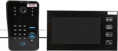 RFID Video Telefoon Intercom Deurbel Telefoon Intercom Deurbel, Deurbel Intercom Systeem, voor Villa Appartement Hotels Of...