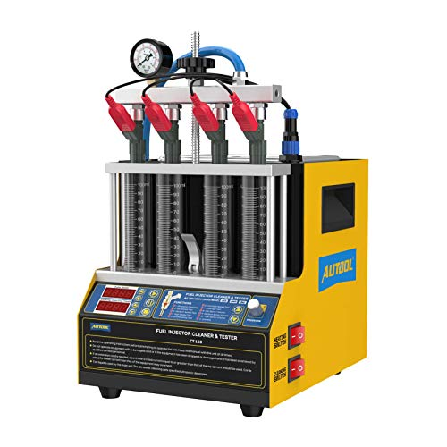 AUTOOL CT 160 Fuel Injector Cleaner & Tester, Automotive Fuel Injection Systems Cleaners,Fuel System Cleaners Testers 110V