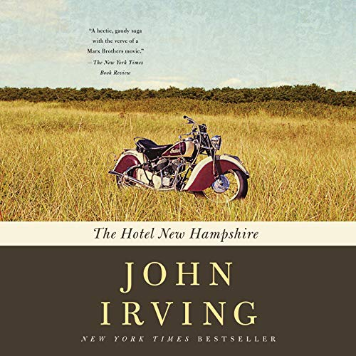 The Hotel New Hampshire audiobook cover art