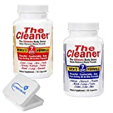 The Cleaner 2 Pack Bundle 7 Day Women's and 7 Day Men's Ultimate Body Detox, 52 Capsules Each Bundle with a Lumintrail Pill Case