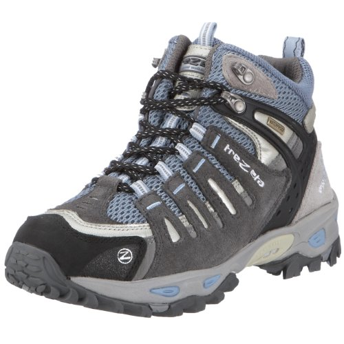 Trezeta CHINOOK MID GREY LIGHT BLUE 010708898, Damen Sportschuhe - Wandern, grau, (grey light blue TRK), EU 40, (UK 6 1/2)