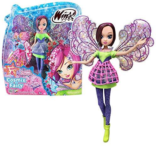 Winx Club Tecna | Cosmix Fairy Puppe beweglichen holografischen Flügeln