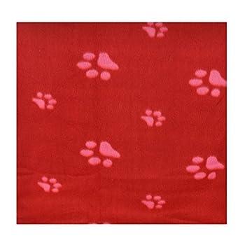 Lot de 3 couvertures en polaire douce pour chiot et chat 70 cm - 73 cm