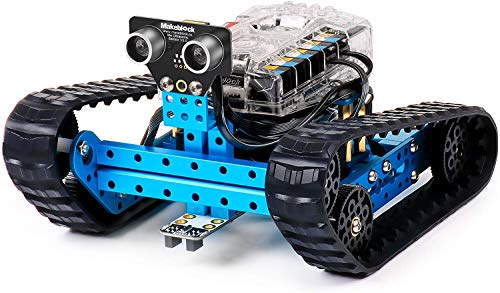 Makeblock 90092 - MBot Educativo Interattivo Programmabile Ranger 3 in 1, Blue