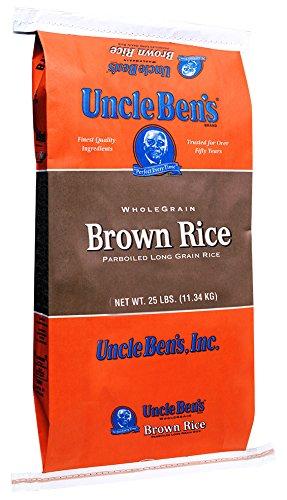 UNCLE BEN'S Whole Grain Brown Rice, 25 Pound