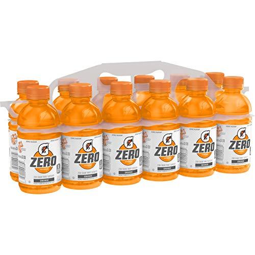 Gatorade Zero Sugar Thirst Quencher Bottles , Orange, 12 Ounce 12 Count