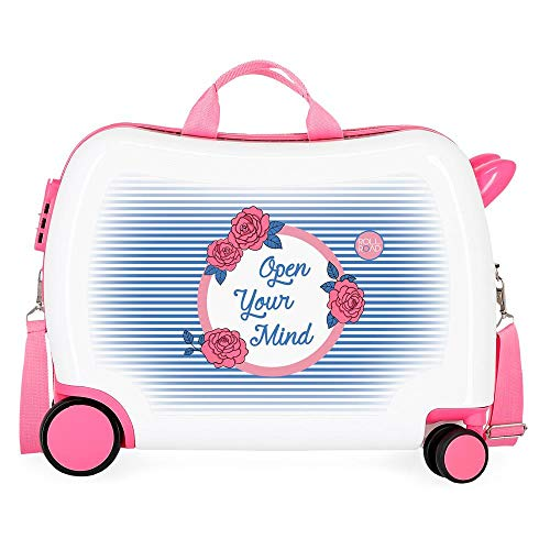 Roll Road Rose Valise Enfant Multicolore 50x39x20 cms...