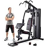 Marcy Heim-Gym mit 90kg Gewichtsblock Kraftstation, Schwarz, MKM-81010