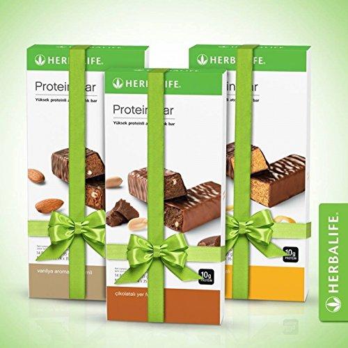 3 Cajas Variadas de Barritas con proteinas Limón, Almendras,Chocolate