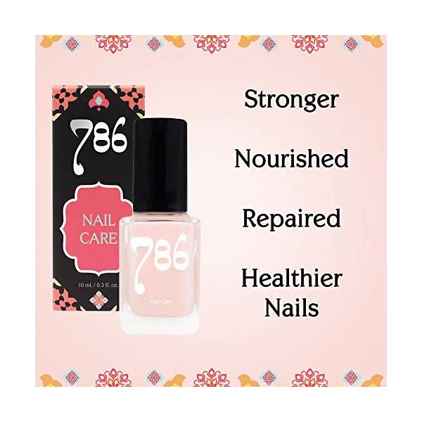 Beauty Shopping 786 Cosmetics – Deep Nutrition Nail Treatment, Strengthens Nails, For Weak