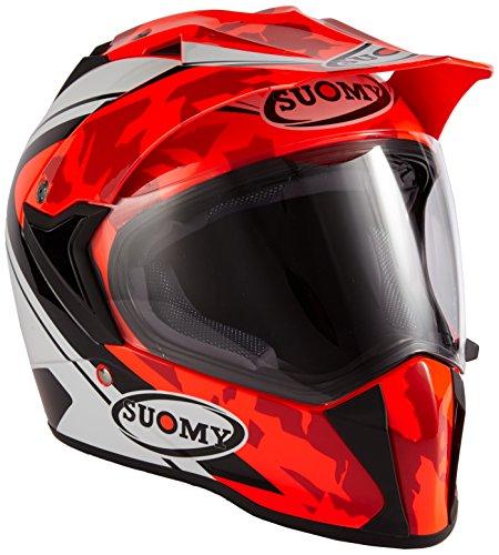 Casque moto intégral SUOMY MX TOURER DESERT RED L