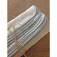 Winter Chill in Blue 1 dozen Undyed Birdseye Unpaper Towels