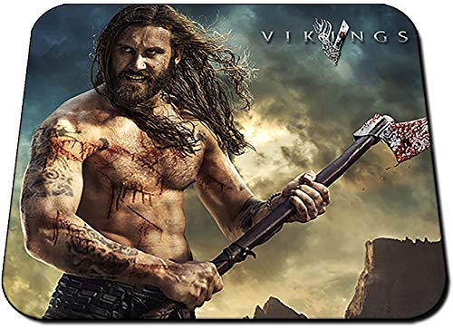 Vikings Rollo Clive Standen Tappetino per Mouse Mousepad PC