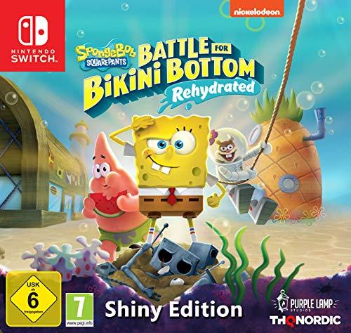 Spongebob SquarePants: Battle for Bikini Bottom Rehydrated - Edición Shiny (Nintendo Switch)