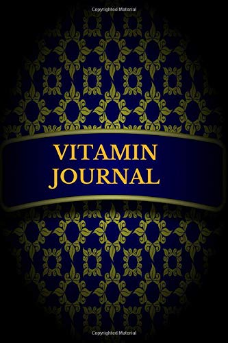 Vitamin Journal: Personal Diary to Record and Track vitamins