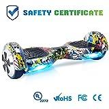 WINGOO Hoverboard 6.5' Gyropode Overboard Enfant avec Norme UL2272, Self Balance Board Electrique,...
