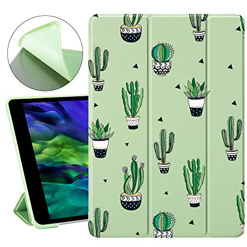 Cactus Lindo para el Aire 4 10.2 iPad 8th 2020 7th Generation Case Pro 12.9 Caso 2020 Mini 5 Funda Soft Silicone para iPad Mini 2 Air 3 (Color : 67, Size : iPad Air 1 2)
