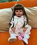 Zero Pam Bebe renacida Muñecas ealistas 55cm niñas Pelo Largo Muñecas Grandes Posibles muñecas reali...