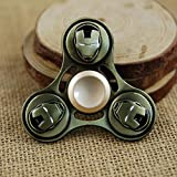 Frndzmart Premium Wind Spinner Stress Reducer Anti Anxiety for Children / Adults(Metallic) Limited Edition Metallic Spinner (Iron Man)