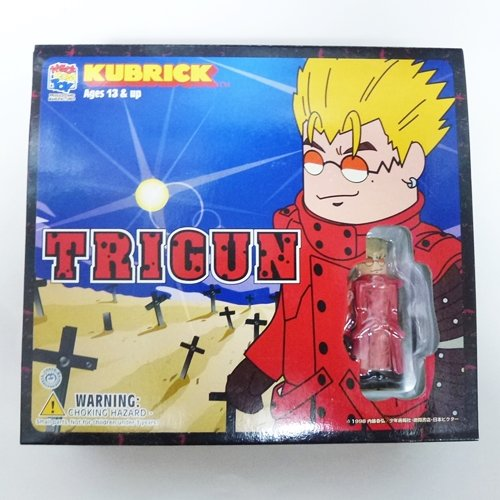 TRIGUN Tri-gun Kubrick 3 body set (japan import)