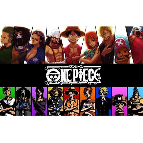 Puzzle, One Piece 300/500/1000/1500 Se Puede Elegir For La Infancia Carácter De Regalo De Cumpleaños Pegatinas Rompecabezas Juguetes (Color : A, Size : 1500PC)