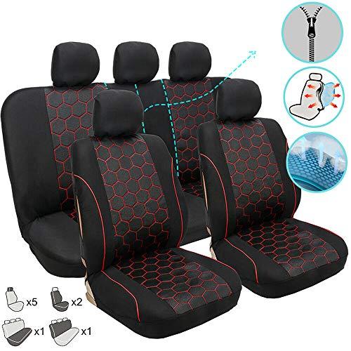 Coprisedili auto sedile auto coperture accessori interno nero