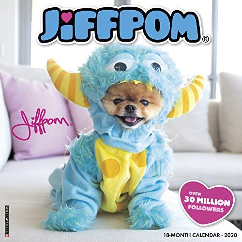 Jiffpom (Jiff the Pomeranian) 2020 Wall Calendar (Dog Breed Calendar)