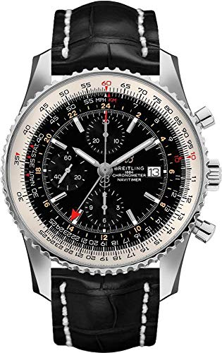 Breitling Navitimer Chronograph Black Dial Men's Watch A24322121B2P2