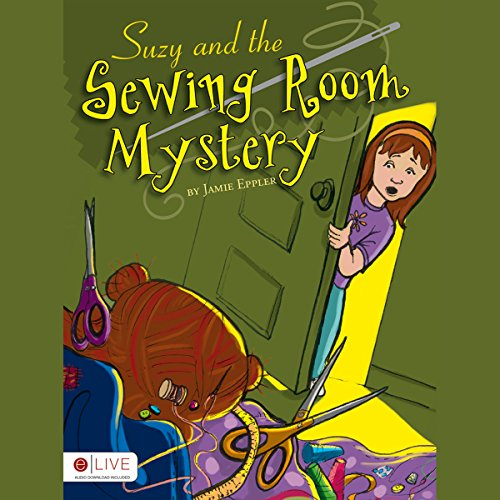 Suzy and the Sewing Room Mystery cover art