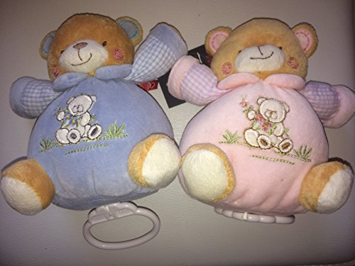 MaxiMo Spieluhr-Bär, Teddy mit Spieluhr (rosa)