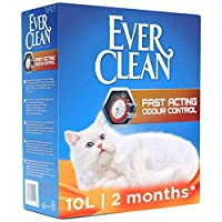 FAST ACTING ODOUR CONTROL CAT LITTER IS IDEAL FOR SMALL SPACES UNIQUE BLEND OF PLANT EXTRACTS: 60% more odour blockers are released within 3 seconds✧.(✧Versus Ever Clean Extra Strong Clumping Scented Cat Litter). PAW ACTIVATED FRAGRANCE WITH CONTINUO...