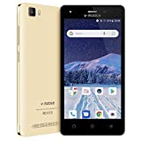 4G Unlocked, Unlocked Smartphone, 5.0' Android 8.1 Cell Phones Unlocked 4g LTE, 1GB RAM+8GB ROM - Golden